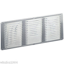 "6-Pk Air Vent Inc 16"" x 4"" Mill Aluminum Soffit Under Eve Vent With Mesh Screen"
