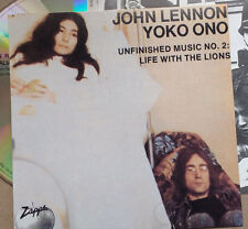 John Lennon & Yoko Ono ‎ Unfinished Music No. 2: Life With The Lions BONUS TRAX