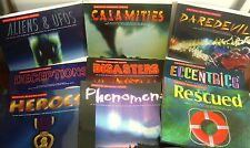 Critical Reading Series Lot Books Reading Comprehension UFOs Heroes Disasters