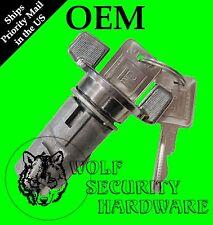 GMC C/K1500 R/V1500 79-94 OEM Ignition Key Switch Lock Cylinder Chrome 2 GM Keys