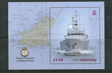 GREAT BRITAIN GUERNSEY 2003 HMS GUERNSEY ship topical (Scott 807) VF MNH
