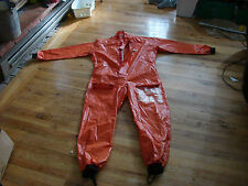 Foul Weather Overalls by Moby Dick of France PVC/Polyamide One Pc Dry suit