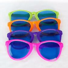 Giant Sunglasses Glasses Comedy Practical Joke Colourful Clown Party Fancy Dress