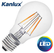 Kanlux 4W E27 Edison Screw Standard LED GLS Light Bulb Lamp Clear 6500K Daylight