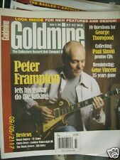 Goldmine Magazine October 27 2006 issue 685 Peter Frampton George Thorogood