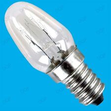 5x 7W DUSK DAWN NIGHT LIGHT LAMP SPARE MINI BULBS; E14 SES Small SCREW 14mm dia.