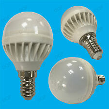 2x 5W E14 LED 6500K Daylight White Mini Globe Golf Ball SES Light Bulb Lamp