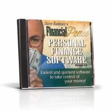 Dave Ramsey's Financial Peace Personal Finance Software CD-ROM Verion 5.4.1 NEW