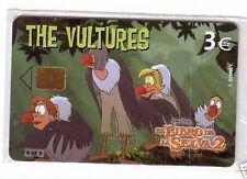 Carta telefonica Spagna  Disney Il Libro della Giungla 2 The Vultures in blister