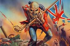 "20x13"" Nice Silk Fabric Cloth Wall Poster Iron Maiden Band Heavy Metal Music"