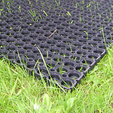 Heavy Duty Rubber Grass Mat Outdoor Safety Flooring for Childrens Playground x 6