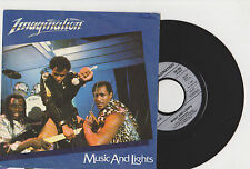 "IMAGINATION  "" MUSIC AND LIGHTS  ""  45 tr (rpm)  1982  Arabella"