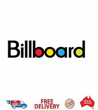 Billboard  CAR BIKE TRAILER Music DECALS quality bags skateboard Music lovers