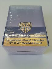 SafTgard Top Load Rigid Card Protector 3x4 Rookie Card Package Of 25 Premium NIP