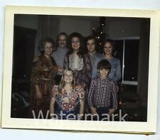 1970s   color polaroid Photo family group  BY22