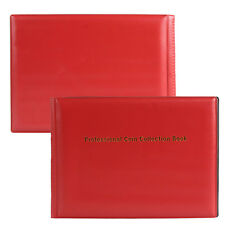 240 Collection Storage Penny Pockets Money Album Book Collecting Coins Holders