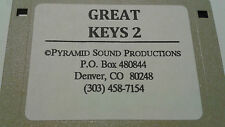 KURZWEIL ~ Great Keys 2 ~ Floppy Disk 100 Progarms K2XXX w/VAST PROGRAMMINGS!!!