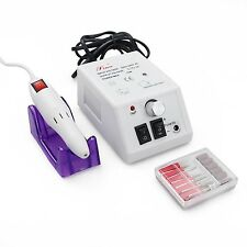 Electric Nail Drill Professional Flylink Nail Machine Electric File with Bits