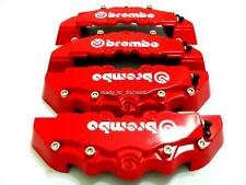 BMW E36 E46 E60 E61 E90 E91 RED BRAKE CALIPER COVER 4PCS FRONT/REAR
