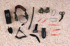 1/6 Scale, MINI TIME Navy seal HALO Radio, cissors, grenades, light sticks, GPS.