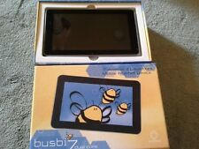 "Busbi Android Tablet 7"" 4GB, Wi-Fi, 7in Black boxed perfect condition"