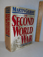 The Second World War : A Complete History by Martin Gilbert (1989, Hardcover)