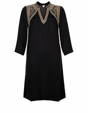 Monsoon Sevanti Embroidered Yoke Tunic Dress UK Size 12 , RRP -£69.00 LAST ONE