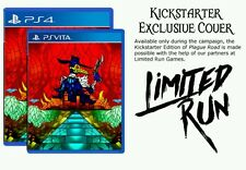 RARE JEU PS VITA PS4 LIMITED RUN GAME PLAGUE ROAD VARIANT EXCLUSIVE COVER ART