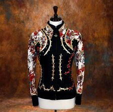 SMALL Showmanship Pleasure Horsemanship Show Jacket Shirt Rodeo Queen Western