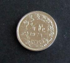 Münze 1/2 Schweizer Franken 1974 aus Umlauf gültiges Zahlungsmittel Sammler