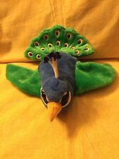 Caltoy Peacock Bird Hand Puppet Teachers Preschool Storytime Educational