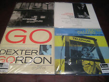 DEXTER GORDON AUDIOPHILE LIMITED EDITION NUMBERED 180 GRAM 45 & 33 1/3 VINYL SET