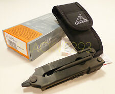 USGI 07400 Black Gerber Multi Tool MP 600 DET W/Sheath - EOD NEW COMPLETE IN BOX