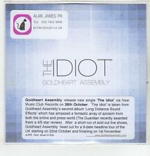 (ER544) The Idiot, Goldheart Assembly - DJ CD