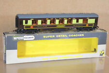 WRENN W6012 BR GOLDEN ARROW PULLMAN 1st CLASS COACH CAR PEGASUS BROWN TABLES ni