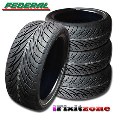 4 Federal SS-595 Tires 245/45R17 95V 240AAA Ultra High Performance 245/45/17 New