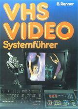 Bernhard Renner: VHS Video Systemführer - vfv Verlag / Deutsch - German - 81836