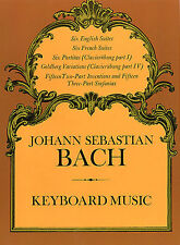 Bach Keyboard Music Learn to Play Classical Suites Partitas Piano Music Book