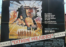 Nick Nolte EXTREME PREJUDICE(1987) Original  UK quad cinema poster