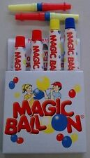 MAGIC BALLOON - formbare Ballons aus der Tube - Set 4 Tuben + 2 Blasrohre