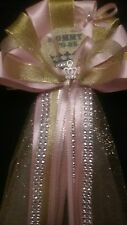 Baby shower Princess Mommy shower corsage It's A Girl pink princess