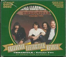 Creedence Clearwater Revival (CCR) Chronicle Vol.2 24 Karat GOLD CD OOP RAR