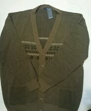 New 6XL Invicta Brown Cardigan with Button Fastening