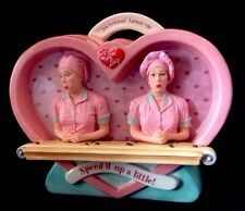 I Love Lucy & Ethel Job Switching Chocolate Factory LE Cookie Jar Vandor MIB HTF