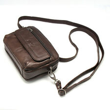 New Mens Bag KOREA 5 Leather Small Shoulder Waist Packs Phone Camera Case Hot
