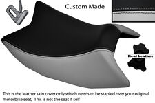 LIGHT GREY & BLACK CUSTOM FITS DERBI GPR 125 50 SIDE EXHAUST 07-13 FRONT COVER
