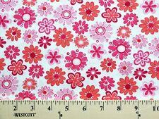 Daisy Daisies Lightweight Jersey T-shirt Knit Fabric Print By the Yard D343.03