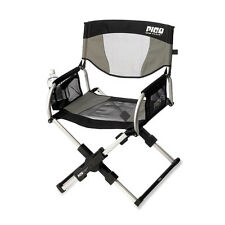 GCI Pico Folding Arm Chair Sage Gray Compact Portable Durable Outdoor Sport