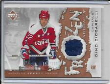 07-08 Artifacts Dino Ciccarelli Frozen Artifacts Jersey #d/299