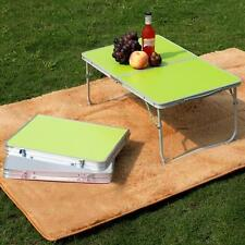 Portable Picnic Camping Folding Table Laptop Desk Stand PC Notebook Bed Tray uk